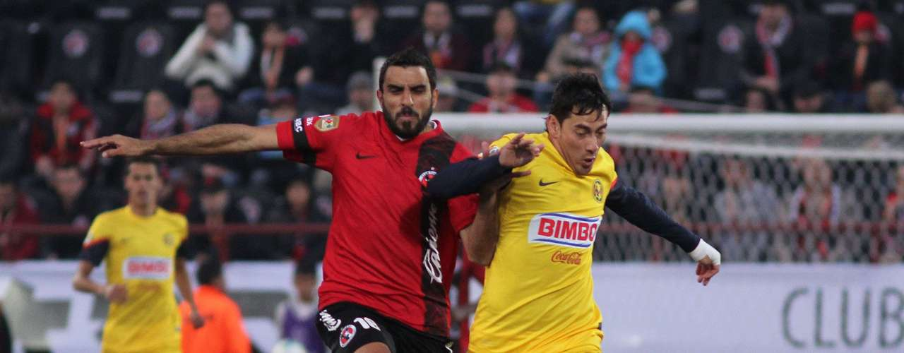 Despite being a man down, America continued to find opportunities against Xolos.