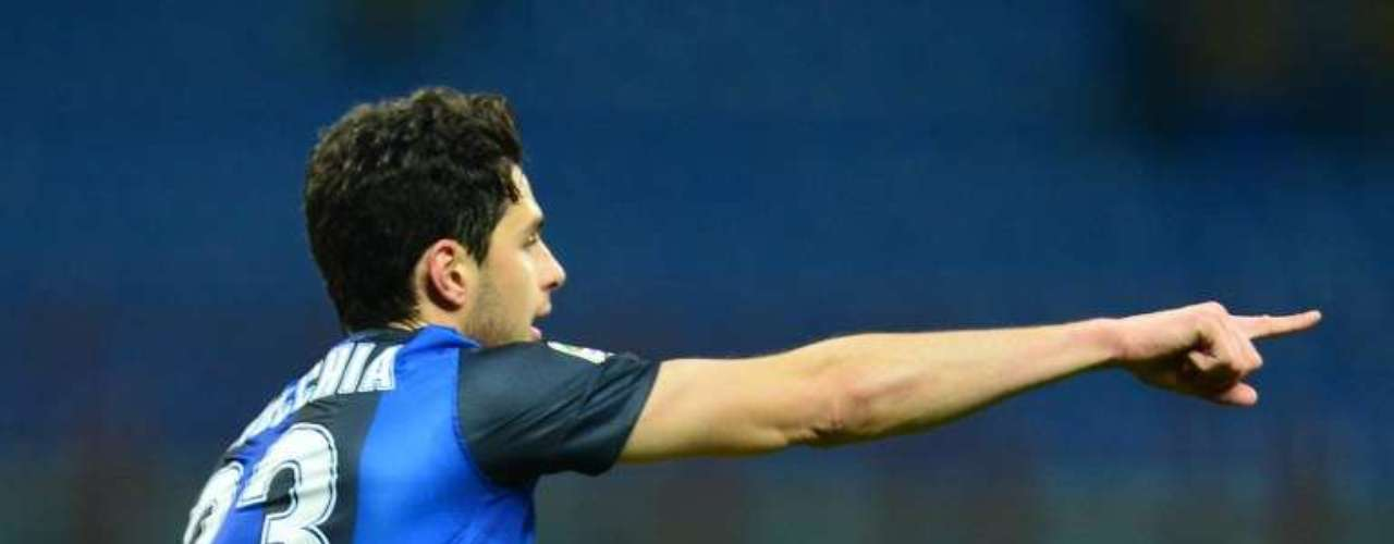 Pero al 26,Andrea Ranocchia volvió a poner en ventaja al Inter de Milán.