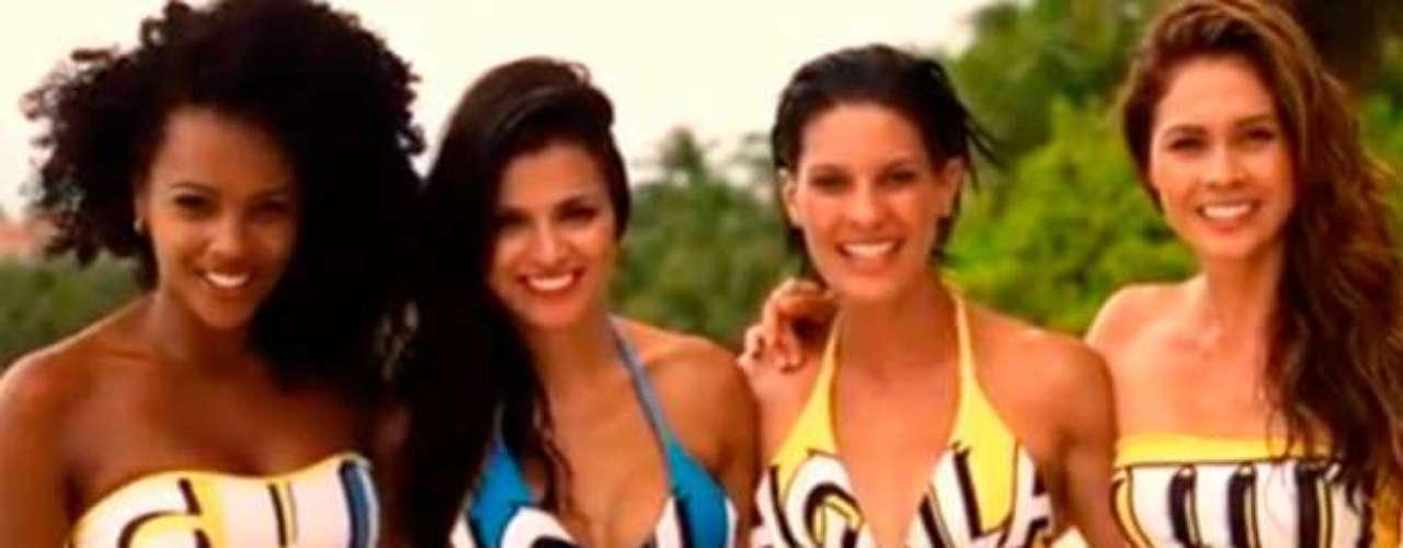 Una captura de pantalla del video en el que invitan a todos a participar del Carnaval de Barranquilla.