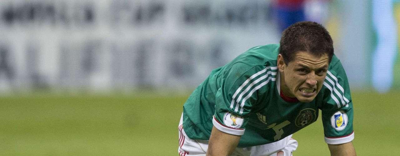 Chicharito Hernandez: oportunista e inteligentetiene un gran olfato de gol tanto en el United como en México. A los 24, el joven delantero fue el máximo goleador y elegido como el mejor jugador de la Copa de Oro de 2011.