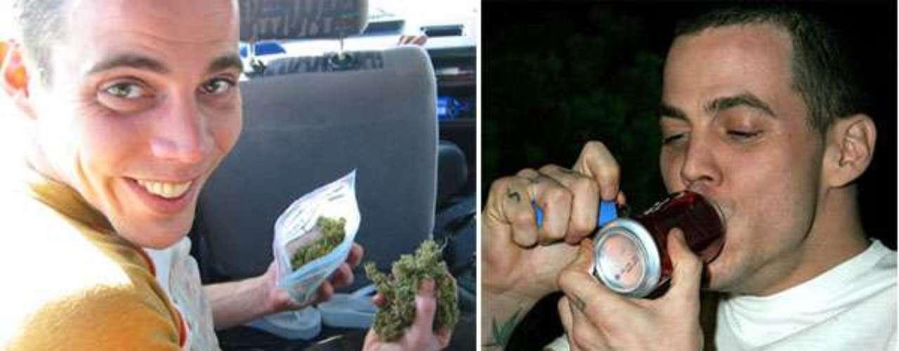 Steve-O, figura del reality de locuras del canal MTV, Jackass, fuma, fuma y fuma. Dice que lo hace a diario y se ha declarado defensor de la inicitaiva que busca legalizar la marihuana en los Estados Unidos.