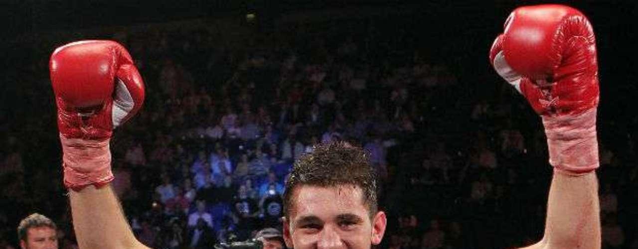 Por último aparece en la lista el británico Nathan Cleverly, actual campeón de los medios pesados por parte de la OMB con una marca de 25-0 (12 KOs).