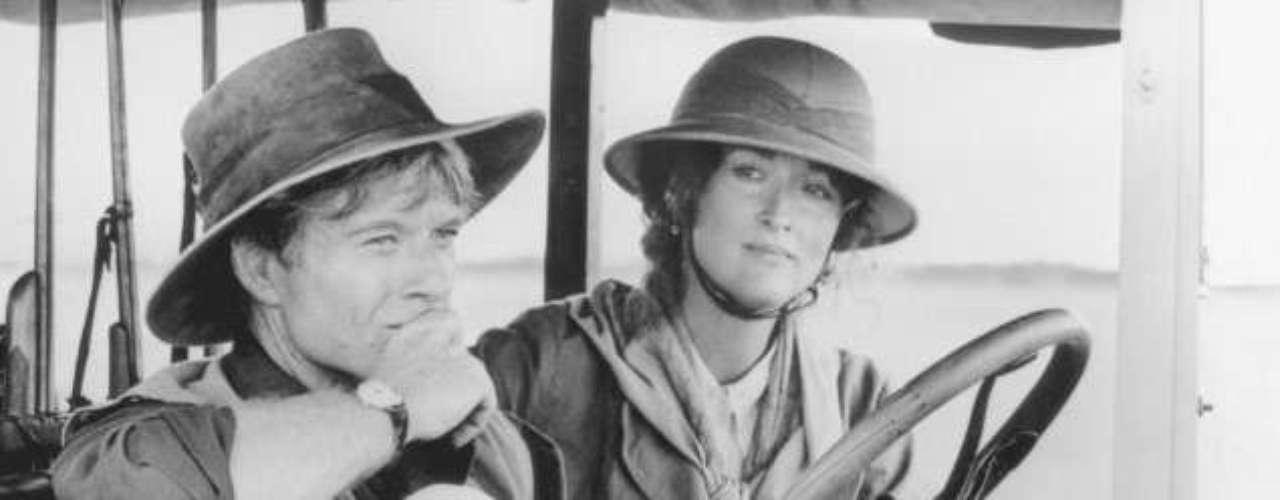 'Out Of Africa'obtuvo siete estatuillas, incluyendo el de Mejor película, Mejor dirección y Mejor guion adaptado. Meryl Streep estuvo nominada como Mejor actriz protagónica.