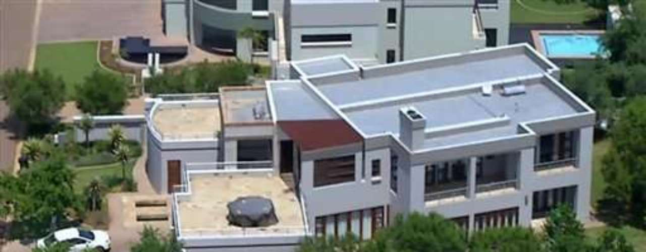 According to initial reports, Steenkamp was shot four times in Pistorius' home (pictured here).