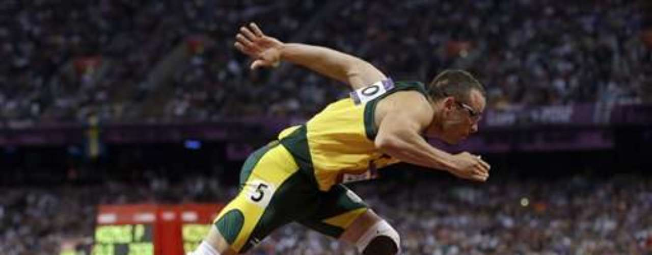Pistorius made history in London last year when he became the first double-amputee track athlete to compete in the Olympic Games, propelling him to the status of an athletics superstar.