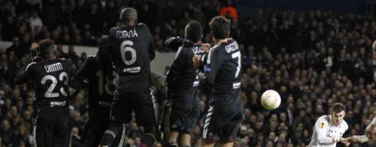 En la última temporada (2012-13), contando todas las competiciones, Bale marcó 55 goles con los 'Spurs'.
