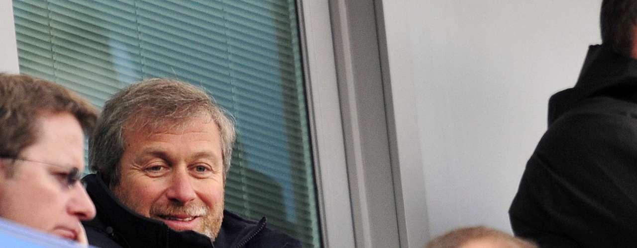 Roman Abramovich, dueño del Chelsea, asistió al partido en Stamford Bridge.