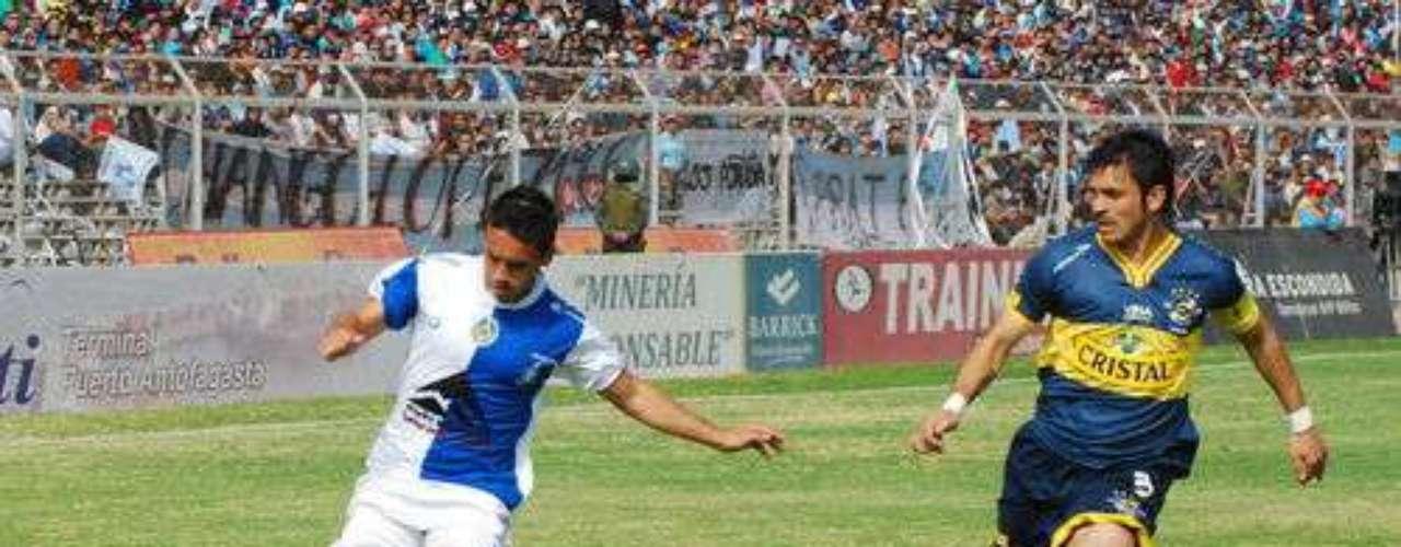 Antofagasta y Everton chocarán a las 17 horas en el Juan López.