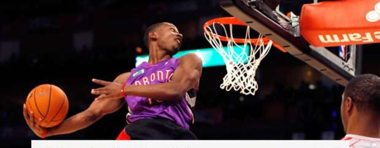Slam dunk champion Terrence Ross thanked the fans again for voting him the winner Saturday night.