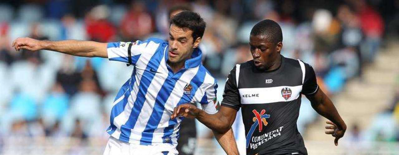 Real Sociedad let a win slip away at San Sebastián, with a 1-1 draw against Levante.
