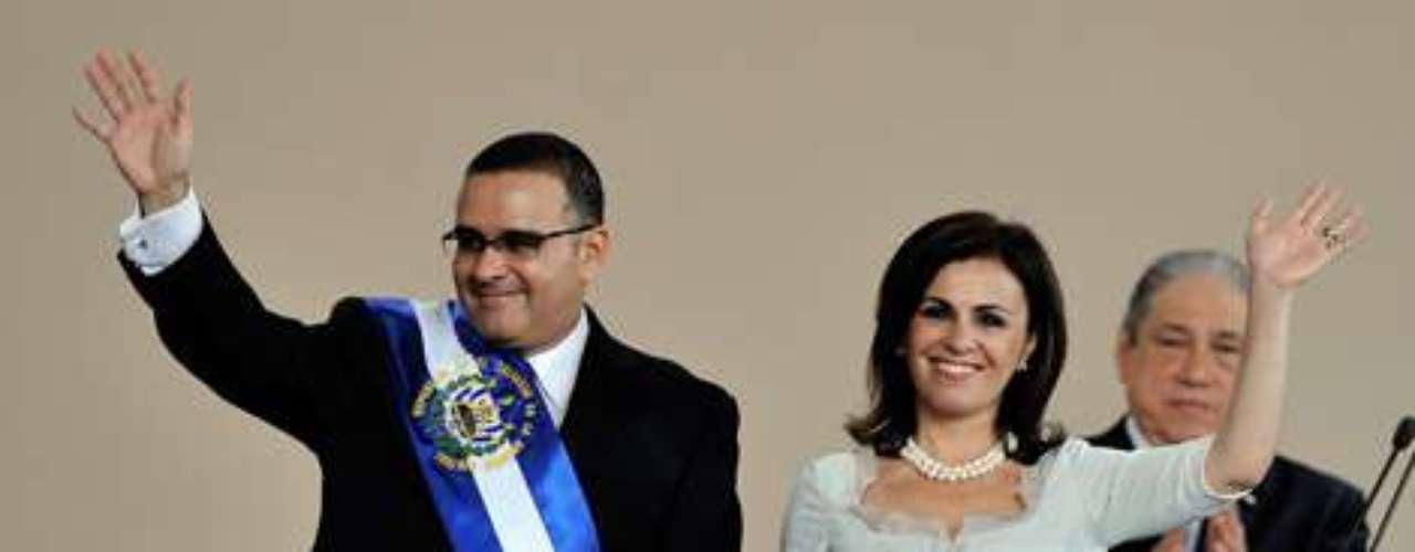 El Salvador. Vanda Pignato, esposa del presidente Mauricio Funes.