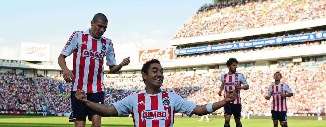 Just two minutes later, Marco Fabián scored for Chivas to equalize.