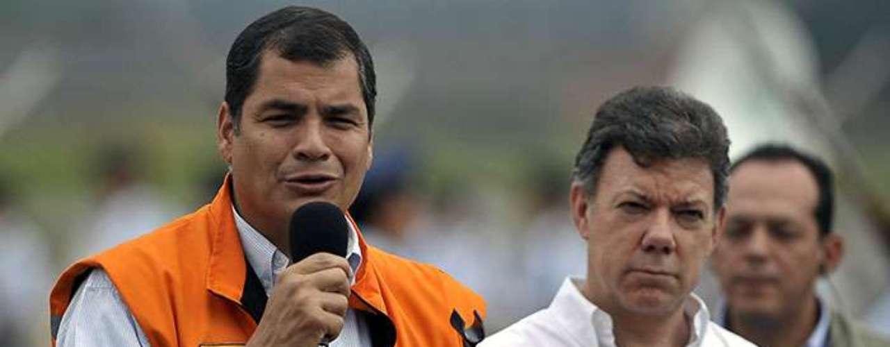 El presidente ecuatoriano conoció a su esposa Anne Malherbe mientras estudiaba en Bélgica una maestría académica.