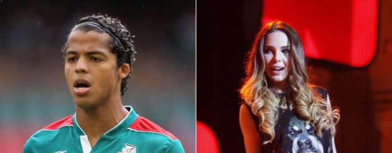 Giovani Dos Santos y Belinda: El mediocampista mexicano y la cantante salieron por varios meses entre 2009 y 2010, después haberse conocido en 2006 y reencontrado en 2008. La pareja estaría de nuevo junta, y hasta hubo rumores de compromiso.