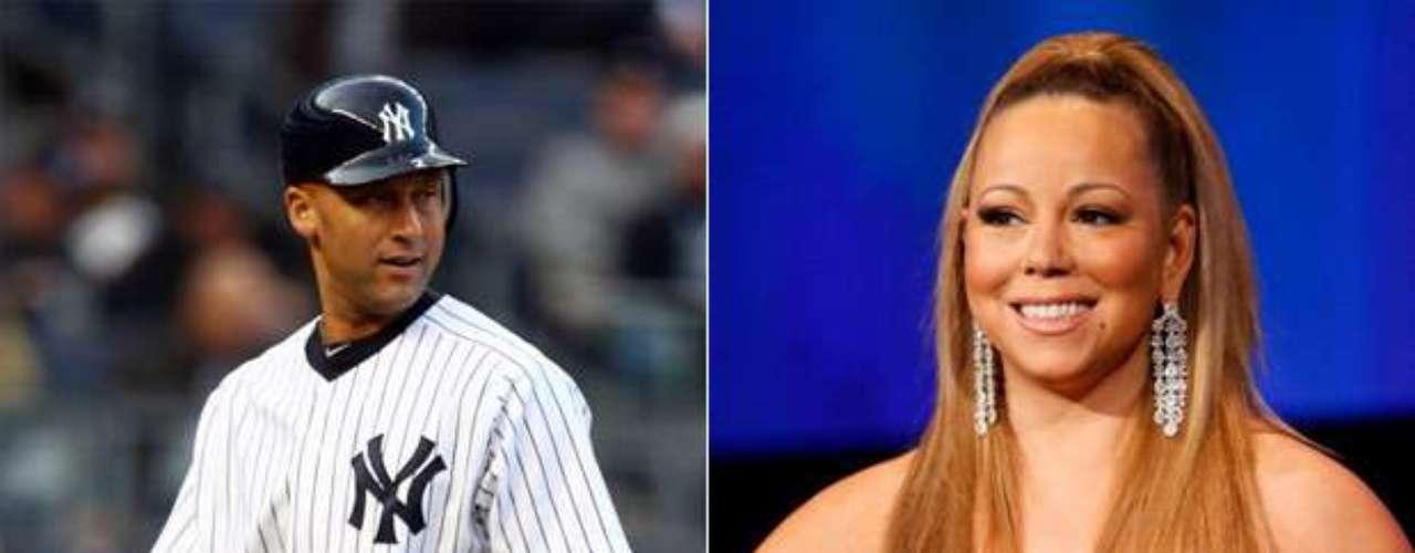 Derek Jeter y Mariah Carey/Scarlett Johanson/Jessica Alba: El shortstop de los Yankees de Nueva York es otro consumado mujeriego, pues ha tenido relaciones con esta cantante y estas actrices, además de haber salido con Jordana Brewster y Minka Kelly.