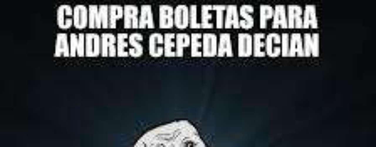Andrés Cepeda.