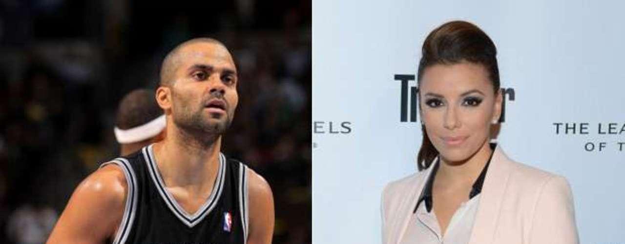 Tony Parker y Eva Longoria: El base francés de los Spurs de San Antonio y la protagonista de Desperate Housewives estuvieron casados entre 2007 y 2011, pero el matrimonio se acabó por las infidelidades de él.