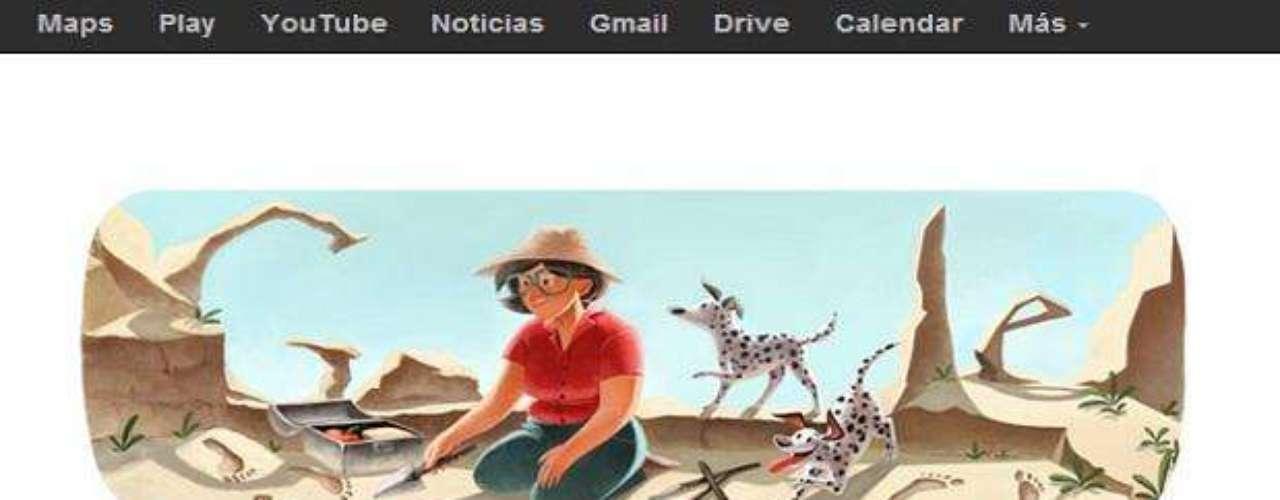 06 de febrero: La arqueóloga británica Mary Leaky, entre cuyos hallazgos fundamentales de la evolución humana destaca el \