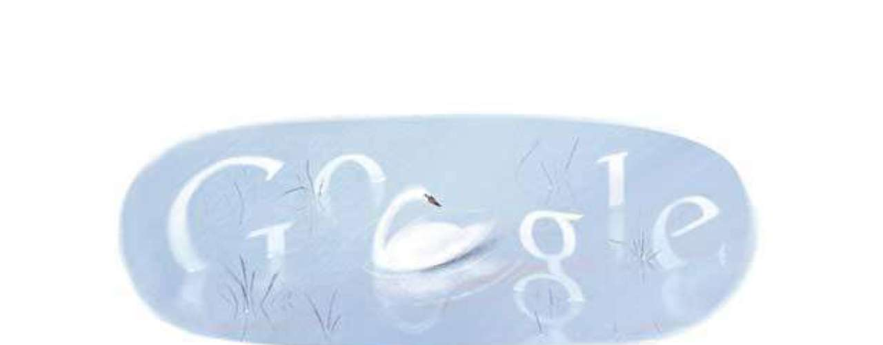 18 de enero: Google dedicó su doodle al poeta nicaragüense Félix Rubén García Sarmiento, conocido como Rubén Darío, en el 146 aniversario de su natalicio. En el doodle se observa un cisne, el símbolo más característico de su poesía.