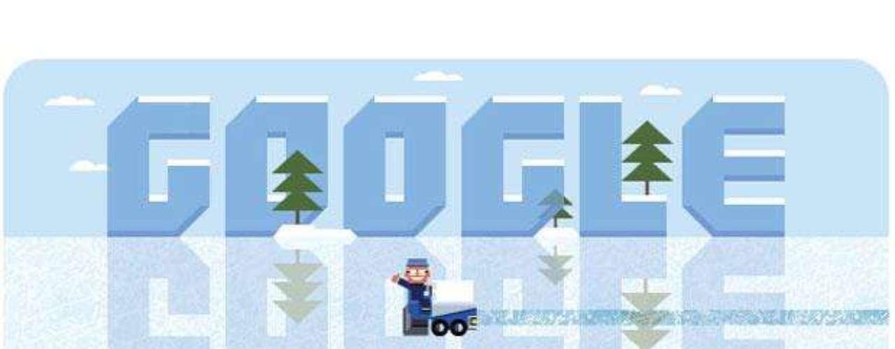16 de enero: Google dedicó su doodle al natalicio de Frank Zamboni, quien inventó las máquinas que borran las marcas sobre hielo y que son conocidas popularmente por su apellido.