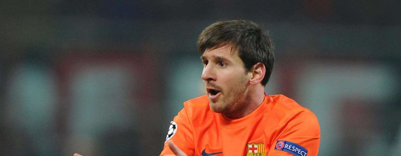 Milan's goal left Barcelona disoriented, especially Lionel Messi, who had more luck complaining than scoring goals, although neither helped his team.