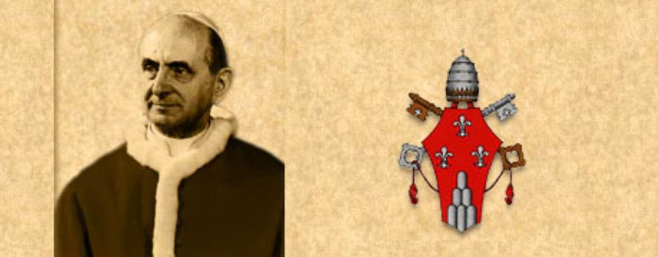 PAULO VI (1963-1978). Giovanni Battista Enrico Antonio Maria Montini. Fue el primer pontífice en viajar a países distantes en África, Sudamérica, Asia y Tierra Santa. En 1965 habló ante la ONU en Nueva York. También excluyó a los cardenales de más de 80 años de la elección papal. En muchos países Paulo VI es recordado sobre todo por su encíclica \
