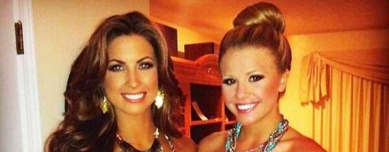 Katherine Webb tweeted this photo of a girl's night out.