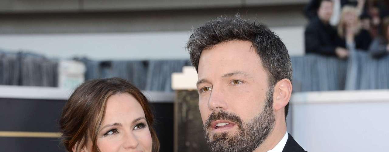 Jennifer Garner y Ben Afleck, volvieron a mostrarse juntos en los Oscar por cuenta de Argo, película dirigida por su esposo Ben y ganadora como Mejor Película.