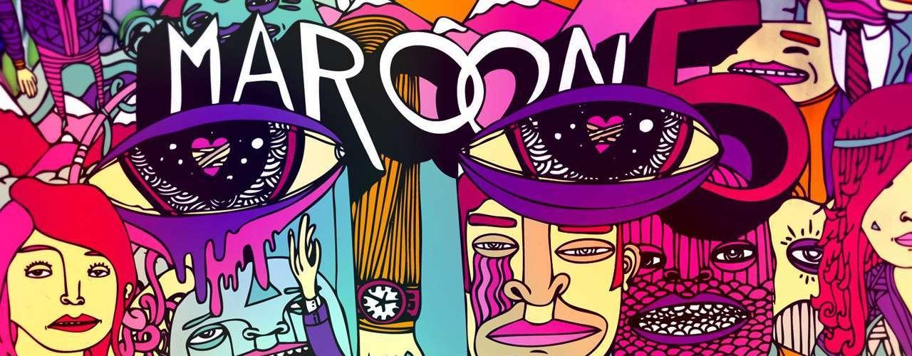 10. 'Overexposed' de Maroon 5. El cuarto álbum de estudio de la banda estadounidense cierra el top ten de los álbumes más vendidos del mundo al colocar 2 millones 200 mil copias alrededor del mundo.