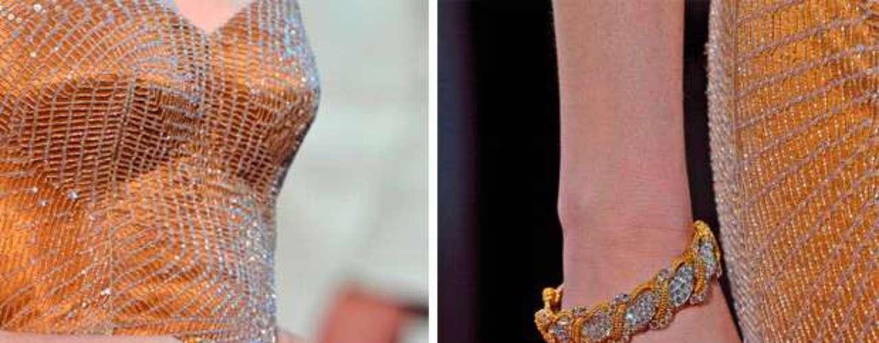 Las pulseras de Harry Winston merecían un Oscar.