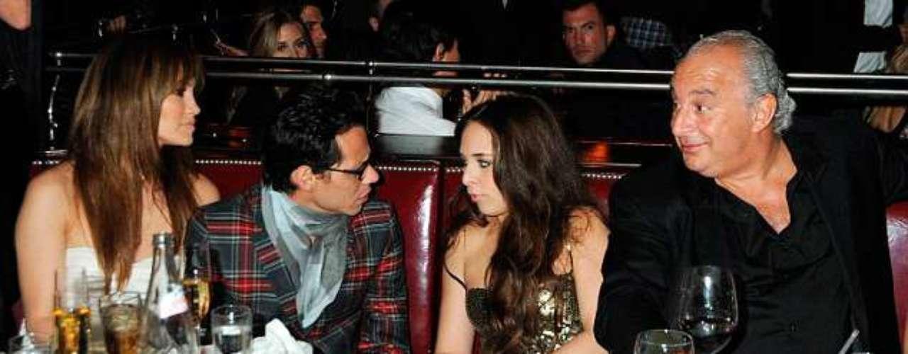 Marc conoció a Chloe en el 2009 cuando aún era esposo de Jennifer López.
