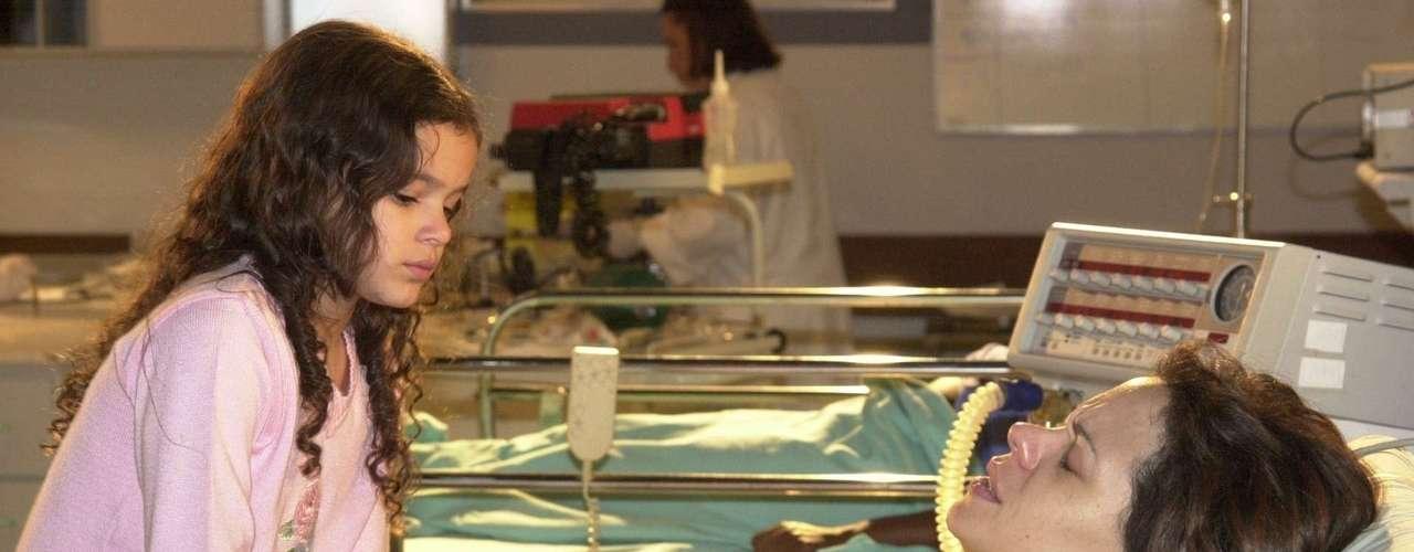 Marquezine yVanessa Gerbelli, en la novela 'Mulheres Apaixonadas', de 2003.