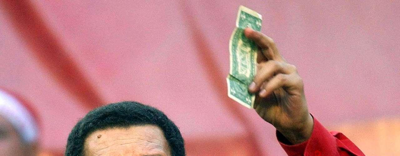 La tensa relación de Hugo Chávez con Estados Unidos hizo noticia en los últimos años. Terra hizo una recopilación de los sucesos que llevaron al distanciamiento entre ambos países.