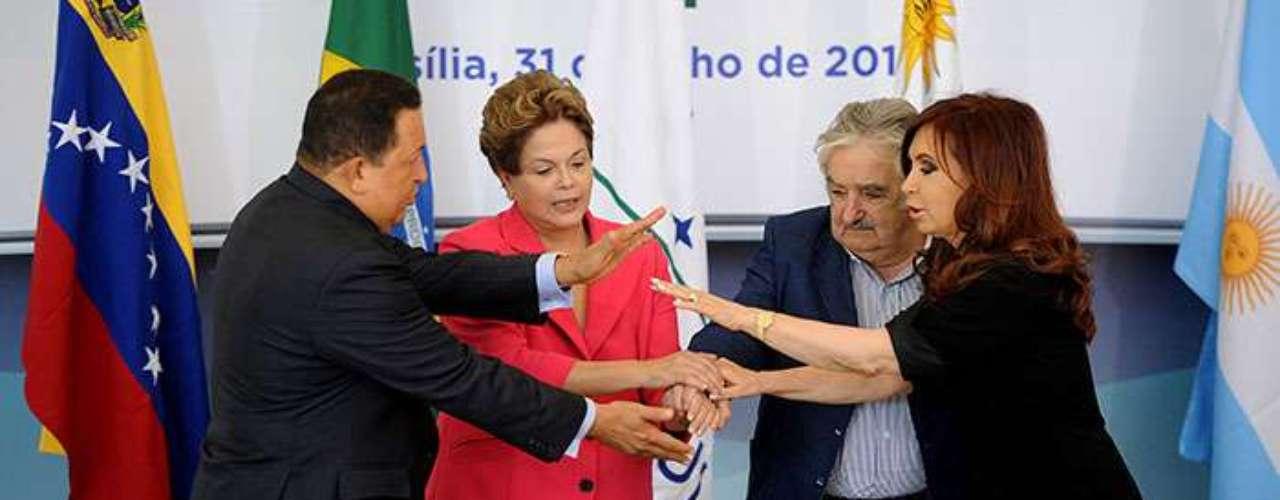 """Respecto al """"enroque"""" de Venezuela por Paraguay en junio de 2012, el vicecanciller Conde ratificó la postura de Argentina, Brasil y Uruguay de que aquel polémico proceso fue """"legítimo""""."""