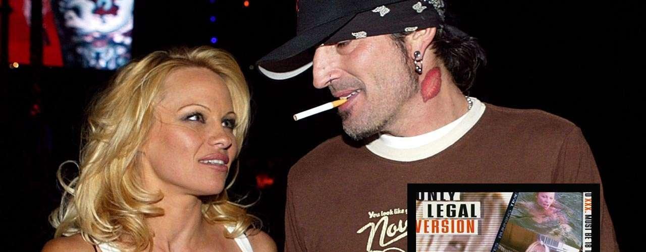 Pamela Anderson: la exestrella de la serie 'Guardianes de la Bahía' se vio expuesta en un video casero de sus actos sexuales con su pareja, el músicoTommy Lee, durante su sexualmente intensa luna de miel.