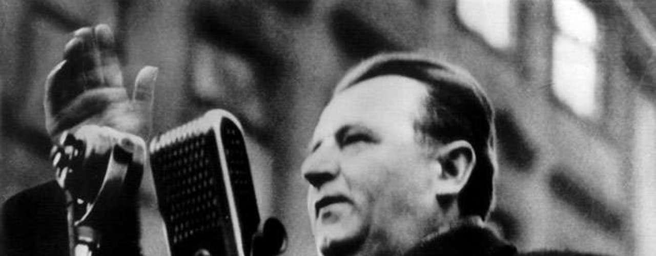 Al mandatario checo Klement Gottwald le fue aplicada la técnica en1953.