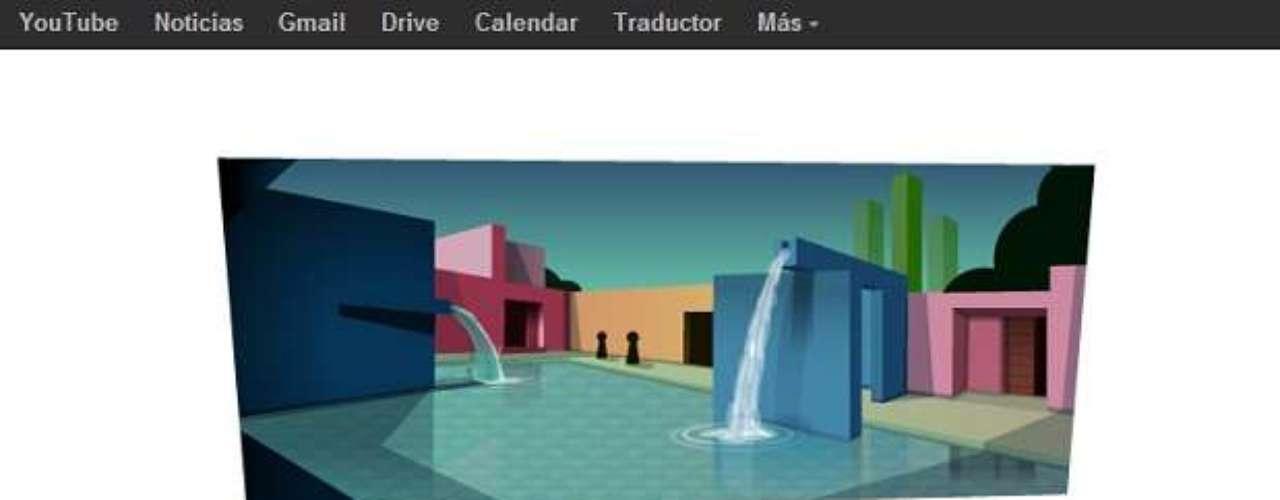 La obra del arquitecto mexicano, Luis Barragán,\