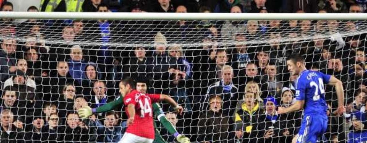 Tres días después de su quinto gol hizo el sexto, pero ahoraen la Copa de la Liga el 31 de octubre en 2012 en Stamford Bridge
