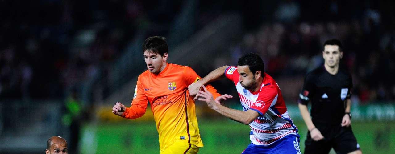 El delantero argentino se ha mostrado más apagado en los últimos compromisos del Barcelona.