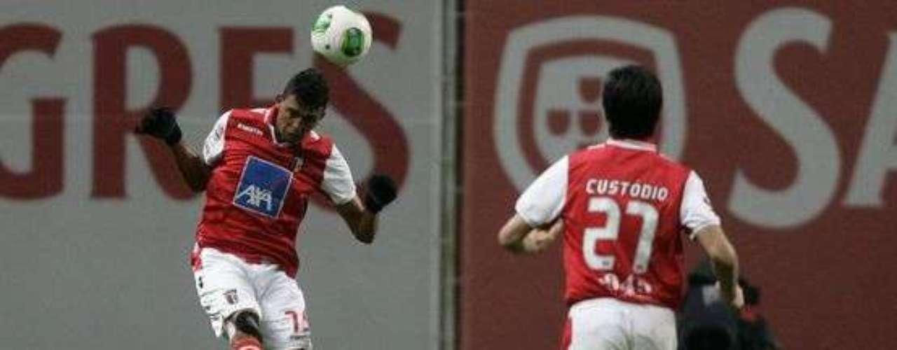 Braga se impone 2-0 a Marítimo para subir al tercer puesto en Portugal