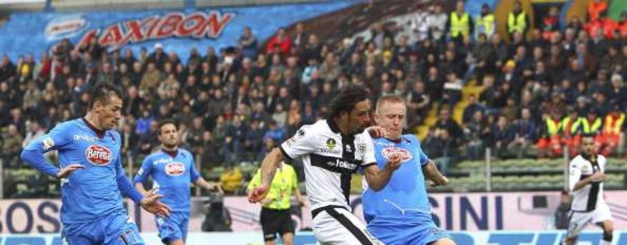 Parma humilló con un 4-1 al Torino; Amauri marcó un hat-trick (tres goles) para los locales en el Ennio Tardini.