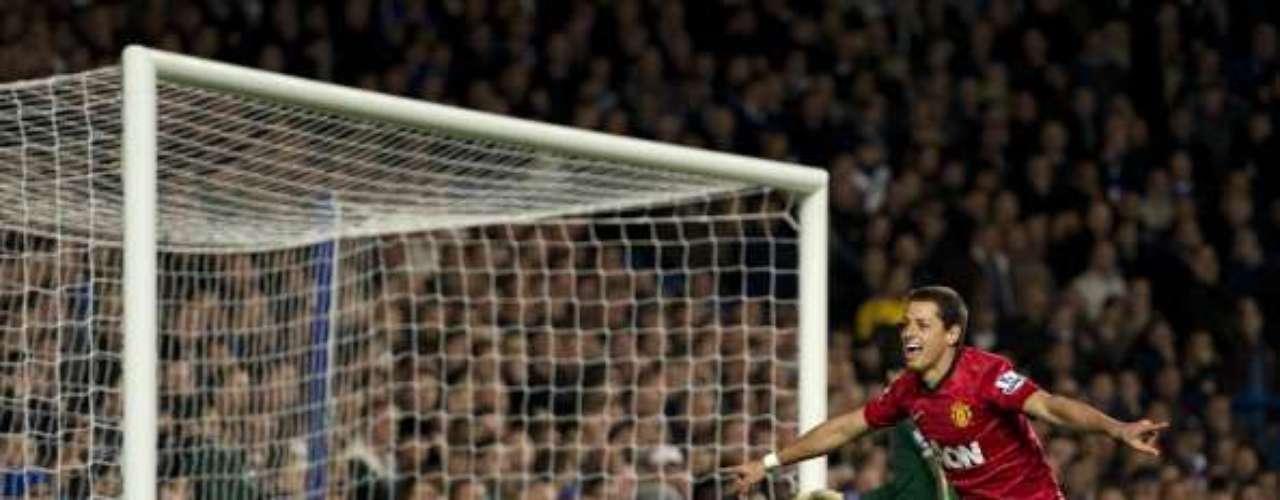 La quinta anotación ante Chelsea fueel 28 de octubre de 2012 en otro encuentro de la Premier League