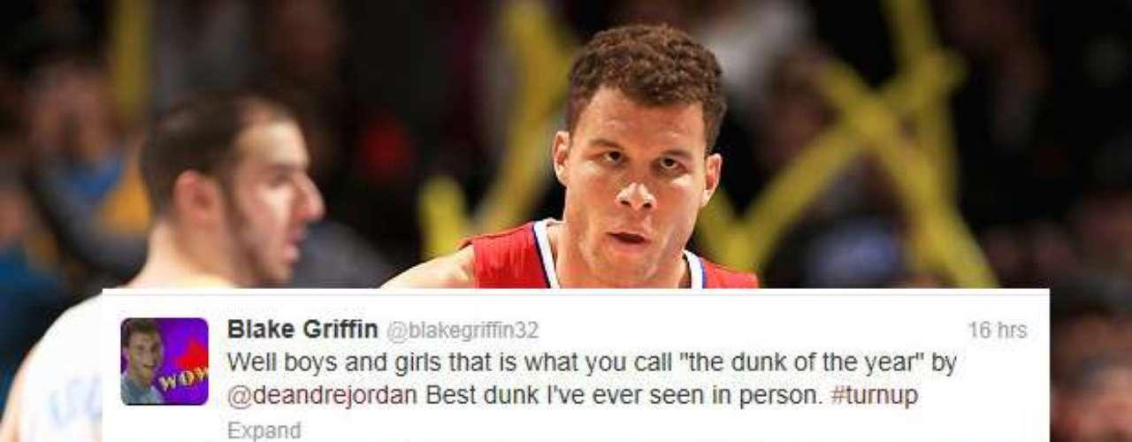 Y el compañero de los Clippers, Blake Griffin, le dio un gran elogio.