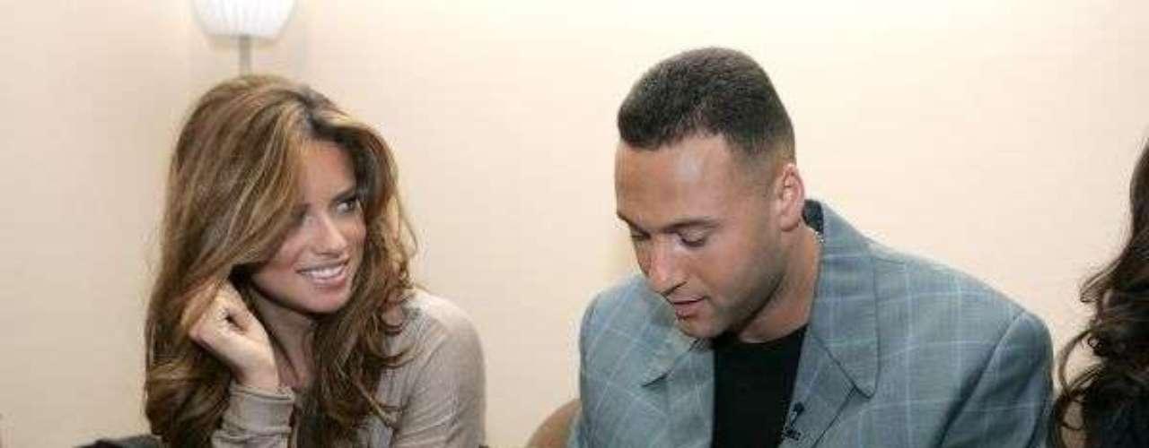 Derek Jeter y Adriana Lima: Antes de casarse con Marko Jaric, la bella supermodelo brasileña salió por un tiempo con el shortstop de los Yankees de Nueva York.