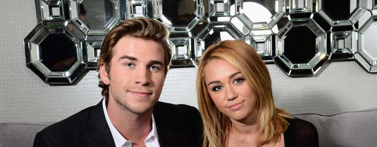 Miley Cyrus and fiance actor Liam Hemsworth have reportedly ended their 3+ years relationship and rumors abound as to why they would break up ther engagement. Did Liam cheat on Miley? Were Miley's wild and crazy party ways too much for Liam? Who knows! Either way, we thought it would be nice to take a look back at photos when they were the cute and happy couple we knew and loved them as.