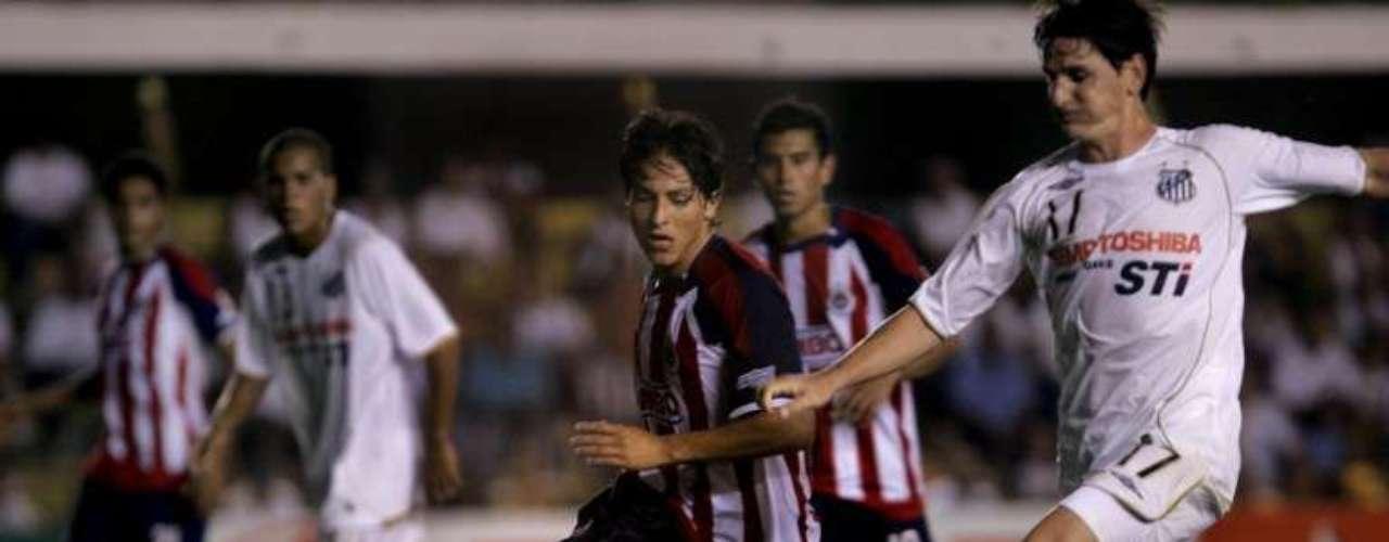 2008 - Santos 1-0 Chivas - Fase de Grupos