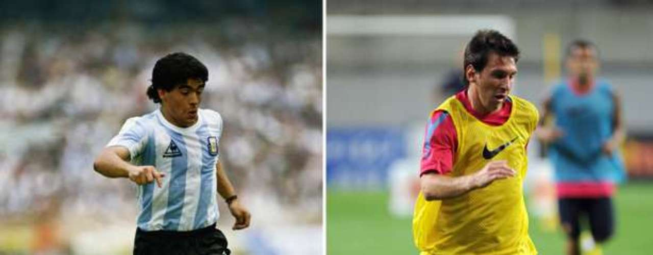 Luego del primer gol que Lionel Messi le marcó al final por los octavos de final de la Champions, muchos recordaron un tanto similar de Diego Maradona a Grecia en el Mundial 94. Ante eso,Terra analiza las coincidencias entre el mejor futbolista argentino de todos los tiempos y el que busca quitarle ese preciado título.