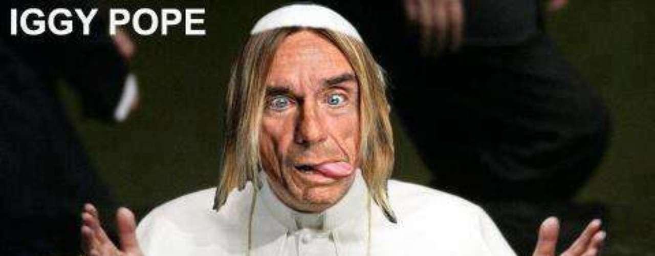 Esta imagen de Iggy Pop, el \