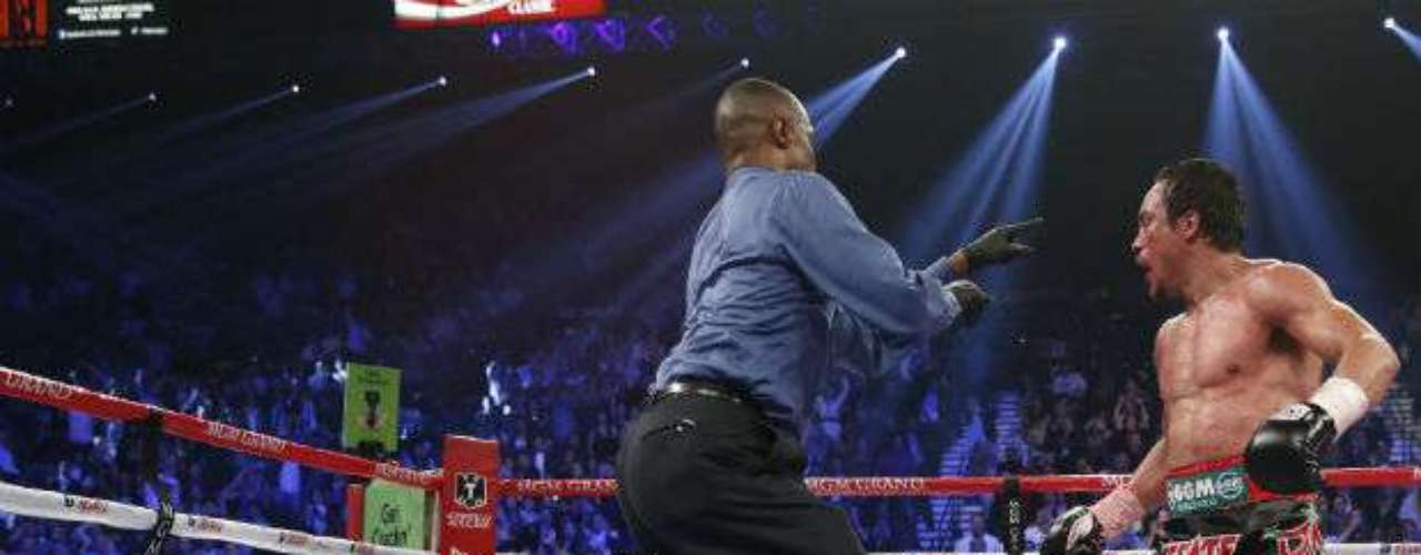 El nocaut espectacular más reciente que recuerden los aficionados es sin duda el que le propinó el mexicano Juan Manuel Márquez a Manny Pacquiao en la cuarta pelea entre ambos, realizada en diciembre de 2012. 'Dinámita' ganó el combate en el sexto asalto.