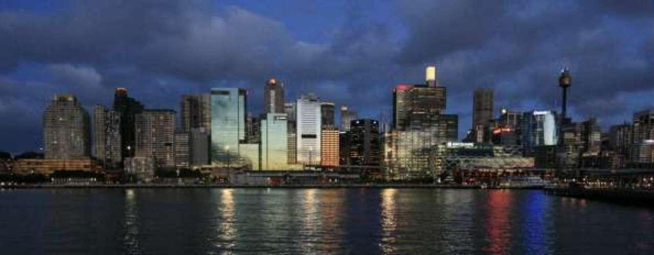 Nueva Zelanda aparece en la lista con el número siete entre los países más privilegiados , seguida de Irlanda. Aquí una vista del centro de Sydney de Pyrmont.